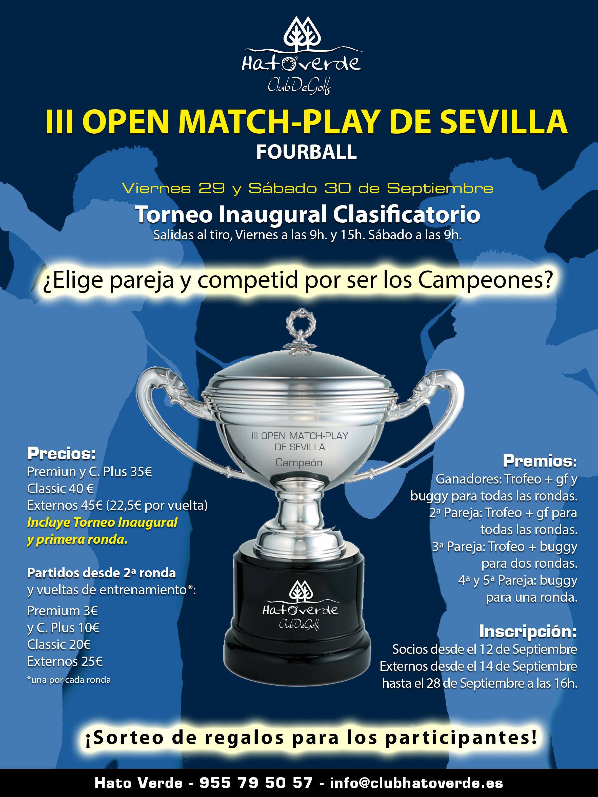 TORNEO FOURBALL - II OPEN MATCH-PLAY DE SEVILLA POR PAREJAS