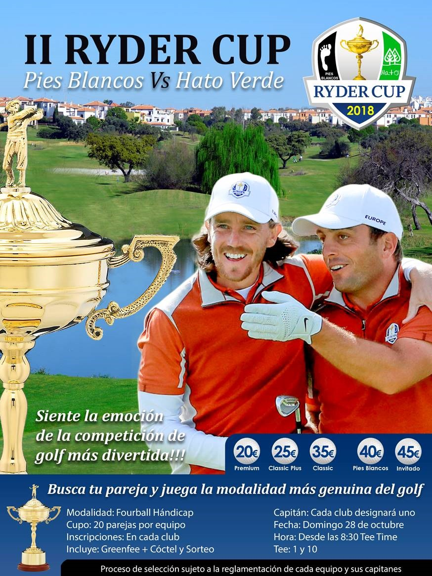 RYDER CUP PIES BLANCOS HATO VERDE